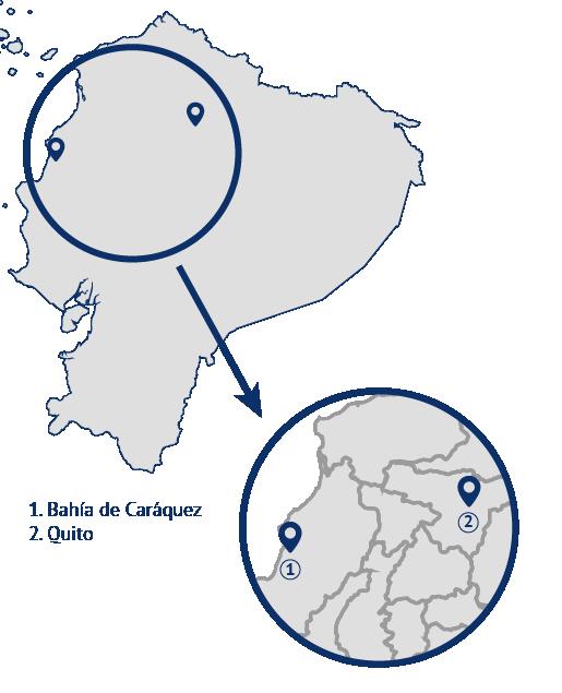 mapa ecuador dehonianos