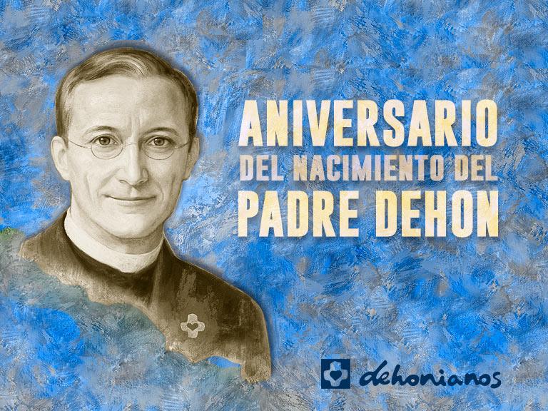 Aniversario padre Dehon