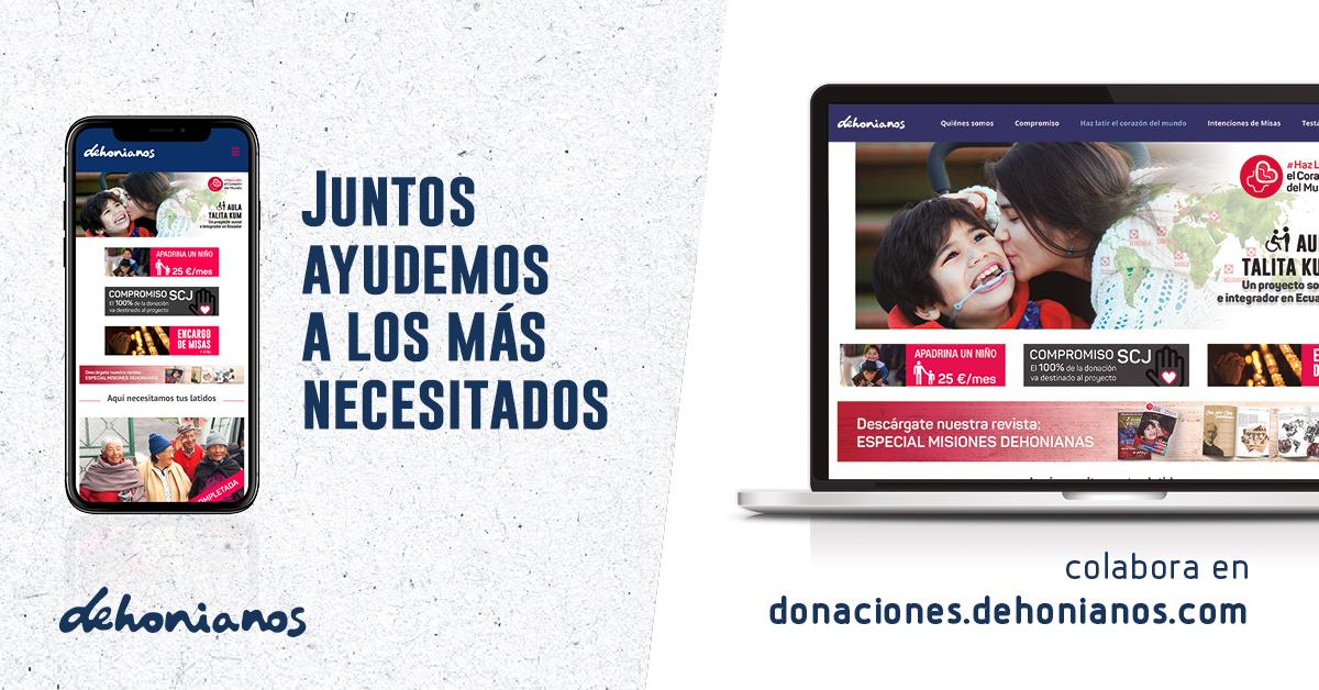 Donaciones de dehonianos