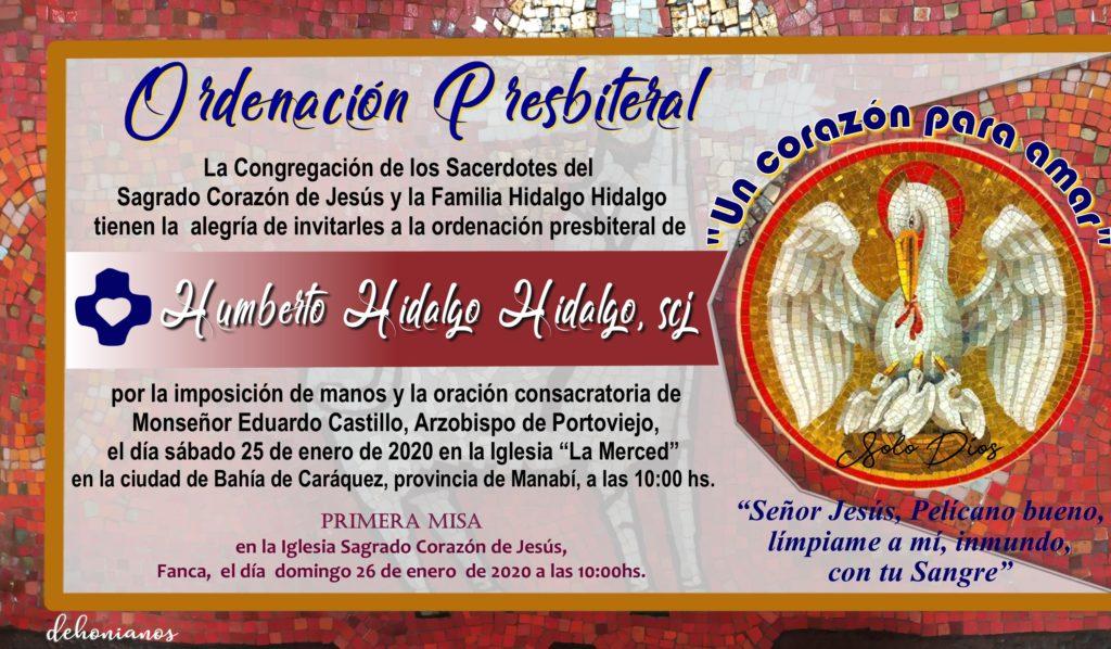 Invitación sacerdotal