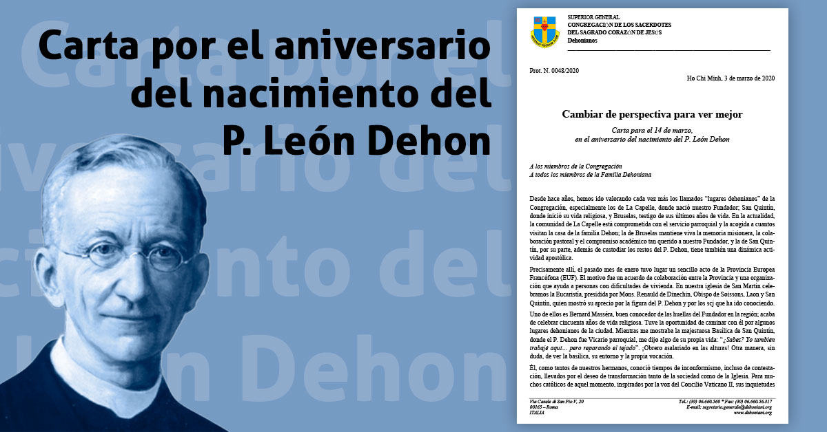 Carta padre Dehon