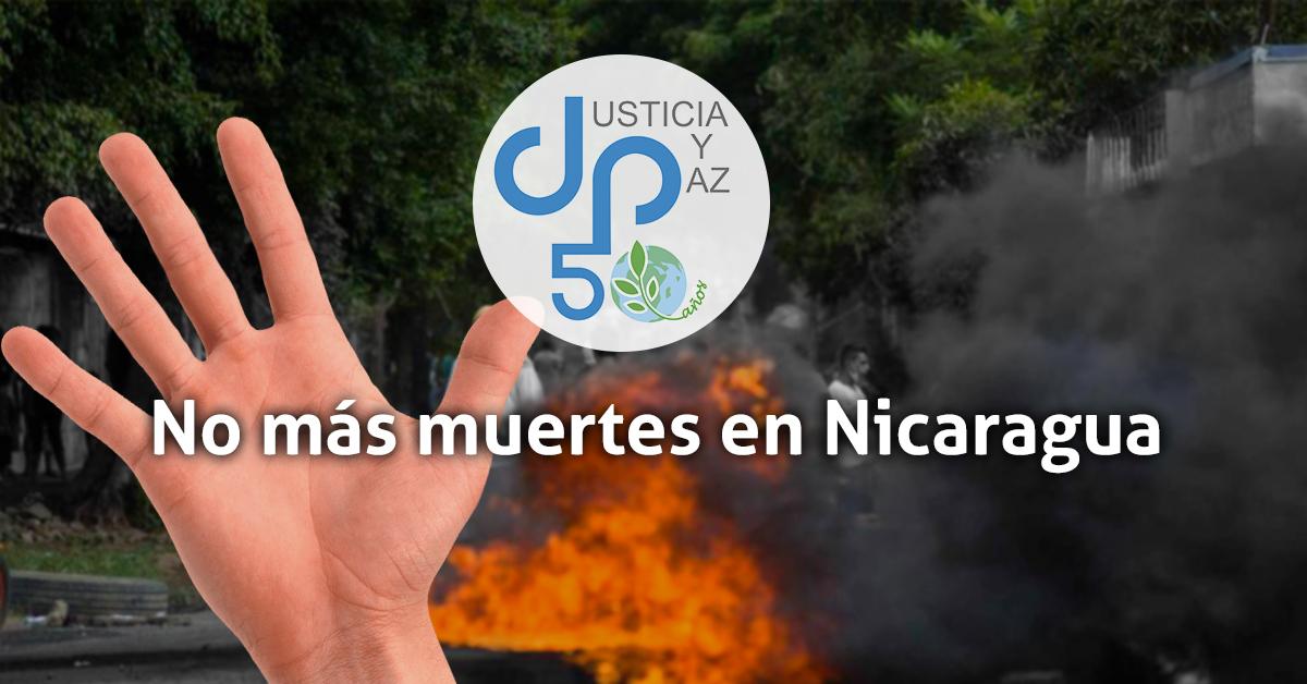 no-mas-muertes-nicaragua-justicia-y-paz