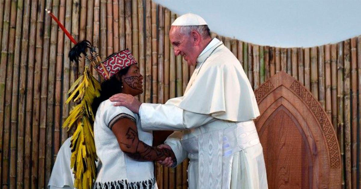 Papa amazonia dehonianos